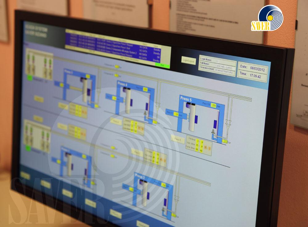 Mezzi tecnici di produzione del Gruppo SAVER