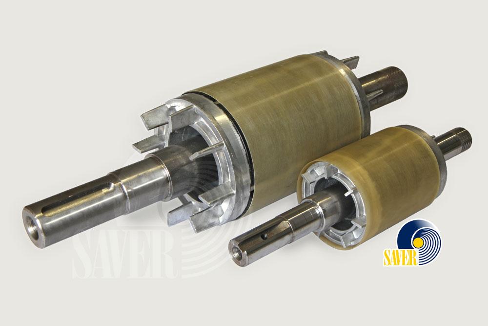 Bandaggio per motori a magneti permanenti di SAVER Spa