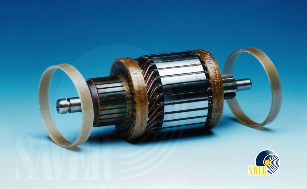 Rings for starter motors and commutators by SAVER Spa
